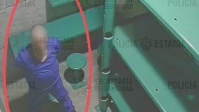 El presunto multifeminicida en su celda ubicada en el penal de Tenango del Valle