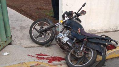 motociclista agredido