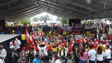 Cientos de personas congregadas en cierre de campañas