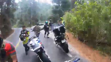 Comando armado bloquean paso en el sur del Estado de México
