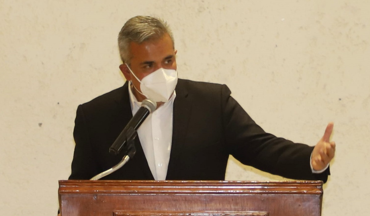 Fernando Vilchis, candidato de Morena en reunión con Unidem