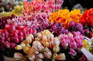 Las flores son un regalo tradicional para el 10 de mayo