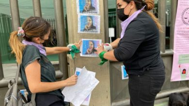 Familiares y amigos realizaron una manifestación este domingo a las afueras de este penal, exigen justicia para Carmen