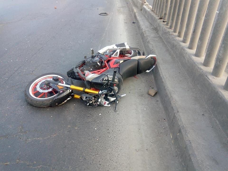 el incidente, tuvo lugar la mañana de este sábado frente al centro comercial Chedraui en la Colonia Guadalupe