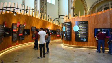 Visitantes de museo