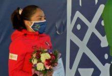 La deportista del Estado de México sumó 1375 puntos en total