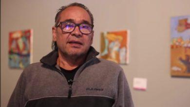 Su obra está expuesta en el Museo Galería Arte Mexiquense Torres Bicentenario