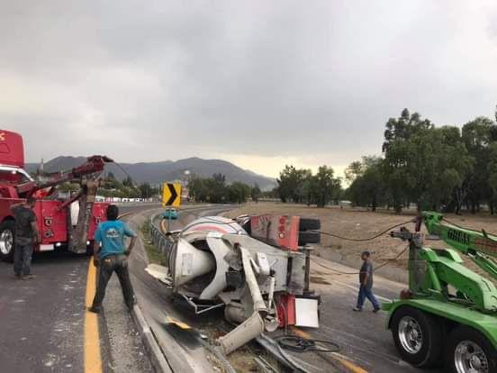El accidente provocó caos vial en la zona