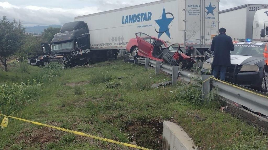 accidente en el Circuito Interior Mexiquense