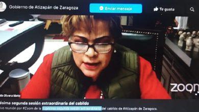 La alcaldesa de Atizapán
