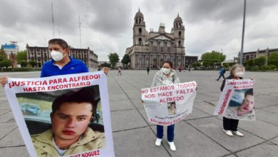 Familiares de Alfredo Ruiz se manifiestan