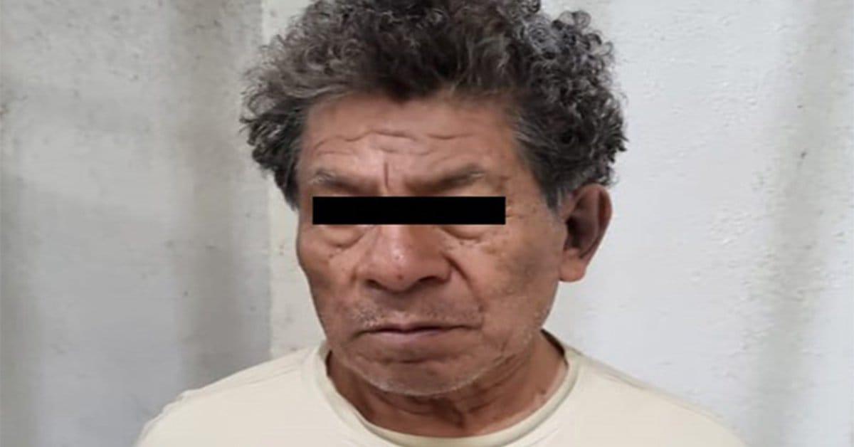 El presunto multifeminicida de 74 años de edad
