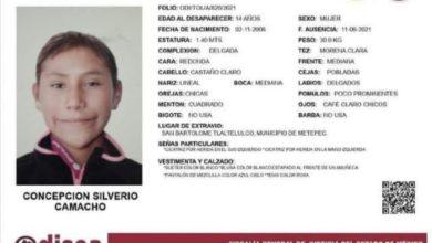 Menor desaparecida