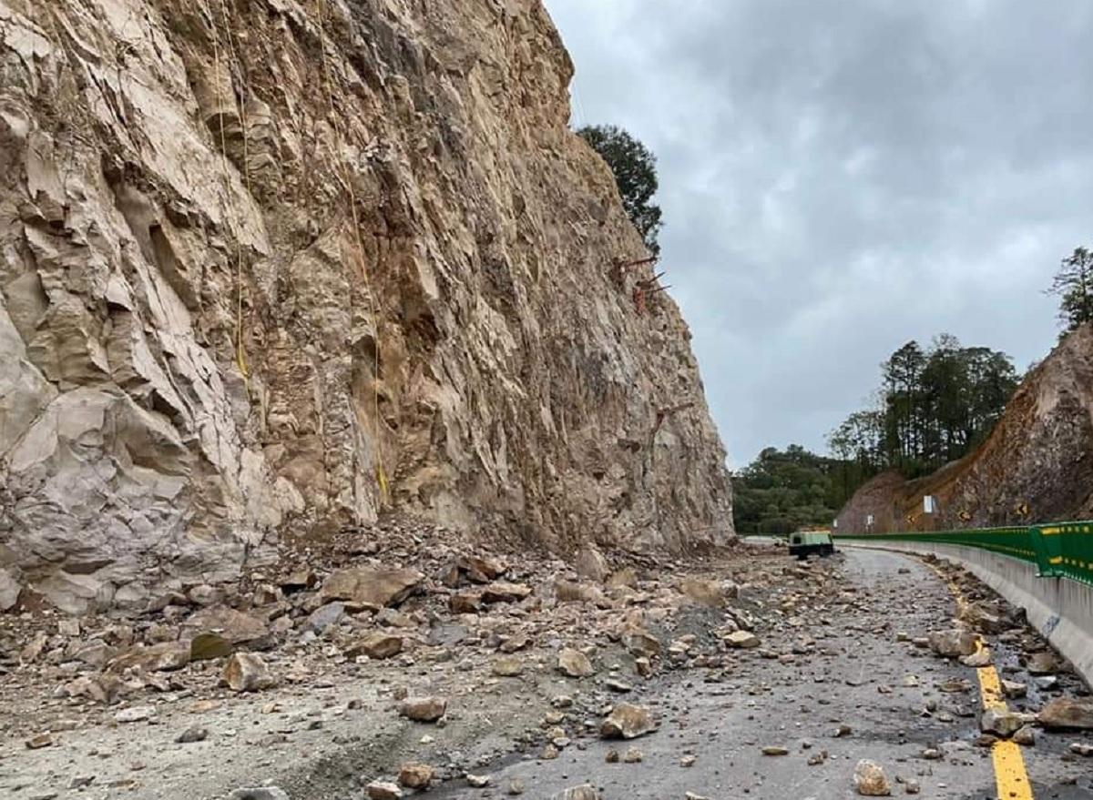 Derrumbe Toluca-Naucalpan