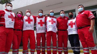 Paramédicos Cruz Roja Toluca