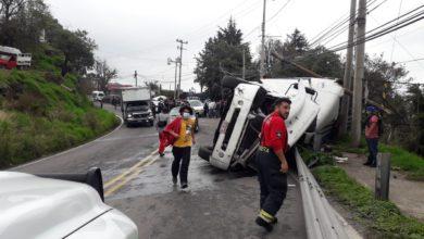 Accidente en la Toluca-Naucalpan