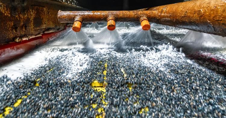 el agua en la industria