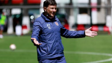 El entrenador del Toluca