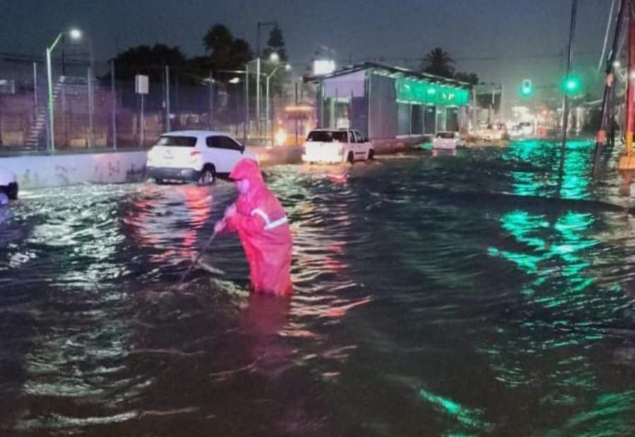 lluvias en Ecatepec