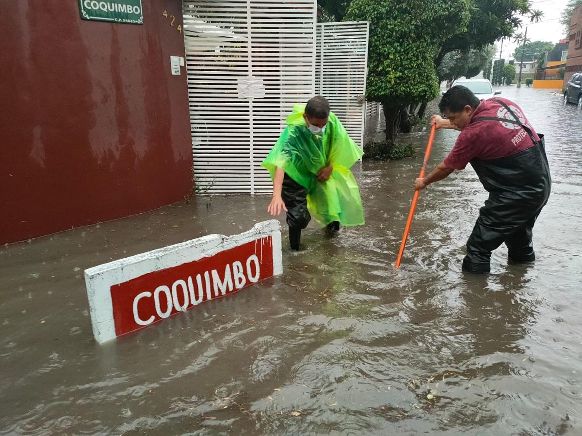 inundaciones en Atizapán