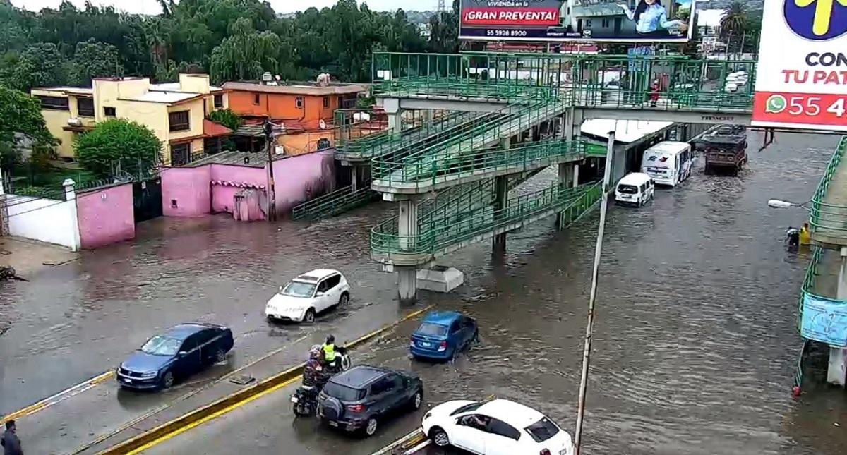 Chiconautla, Ecatepec, inundado