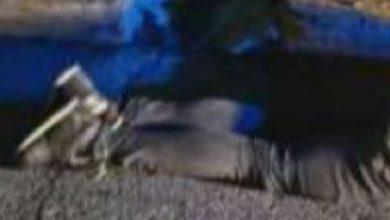 La víctima que fue encontrada en calles de Neza
