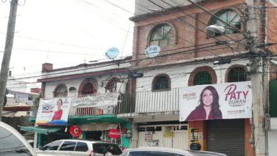Propoganda contaminación visual en Ciudad Satélite