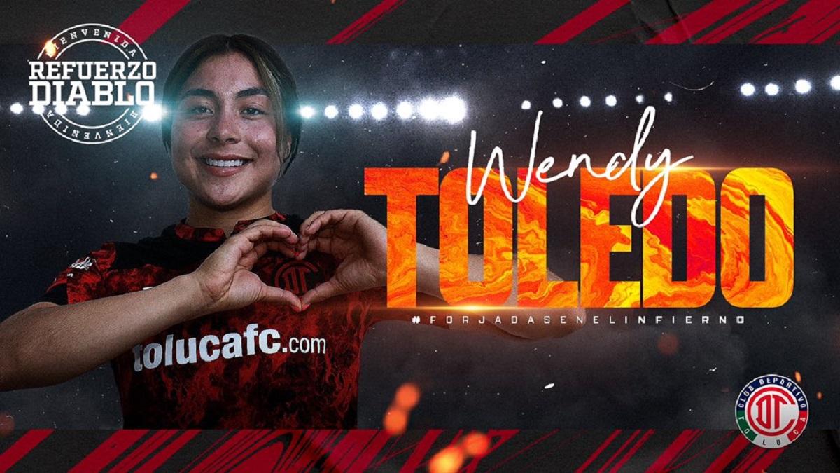 Jugadora Toledo, nuevo refuerzo
