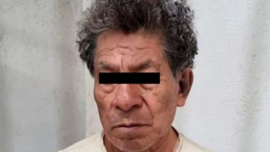 El presunto feminicida detenido