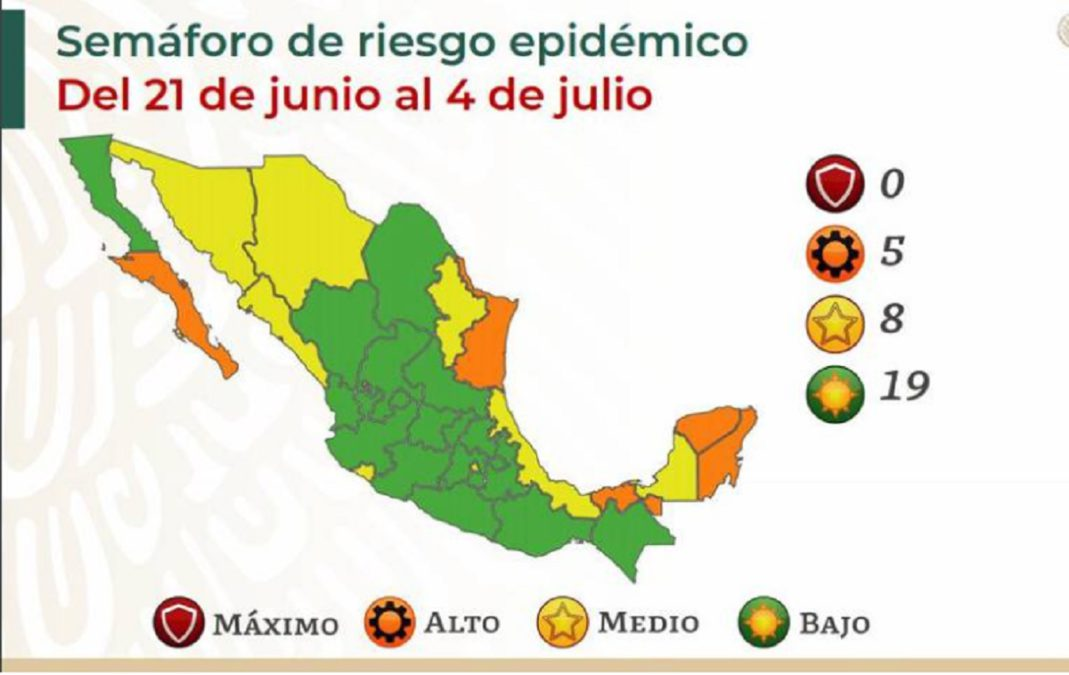 Mapa epidemiológico