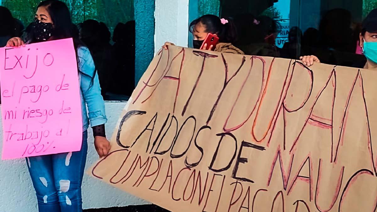 Despidos en Naucalpan