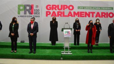 coordinadores parlamentarios del PRI