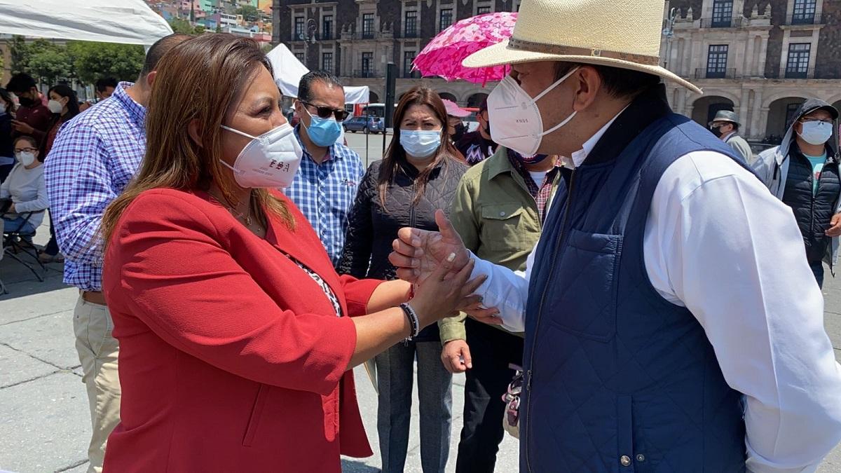 Juan Rodolfo mantiene la protesta pacífica