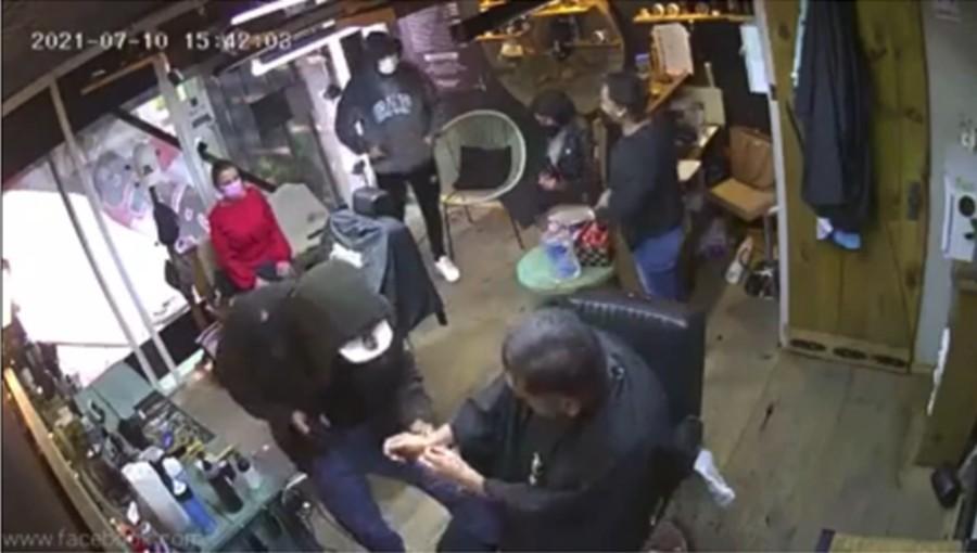 asalto a barbería