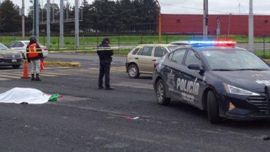 Mujer atropellada en Toluca