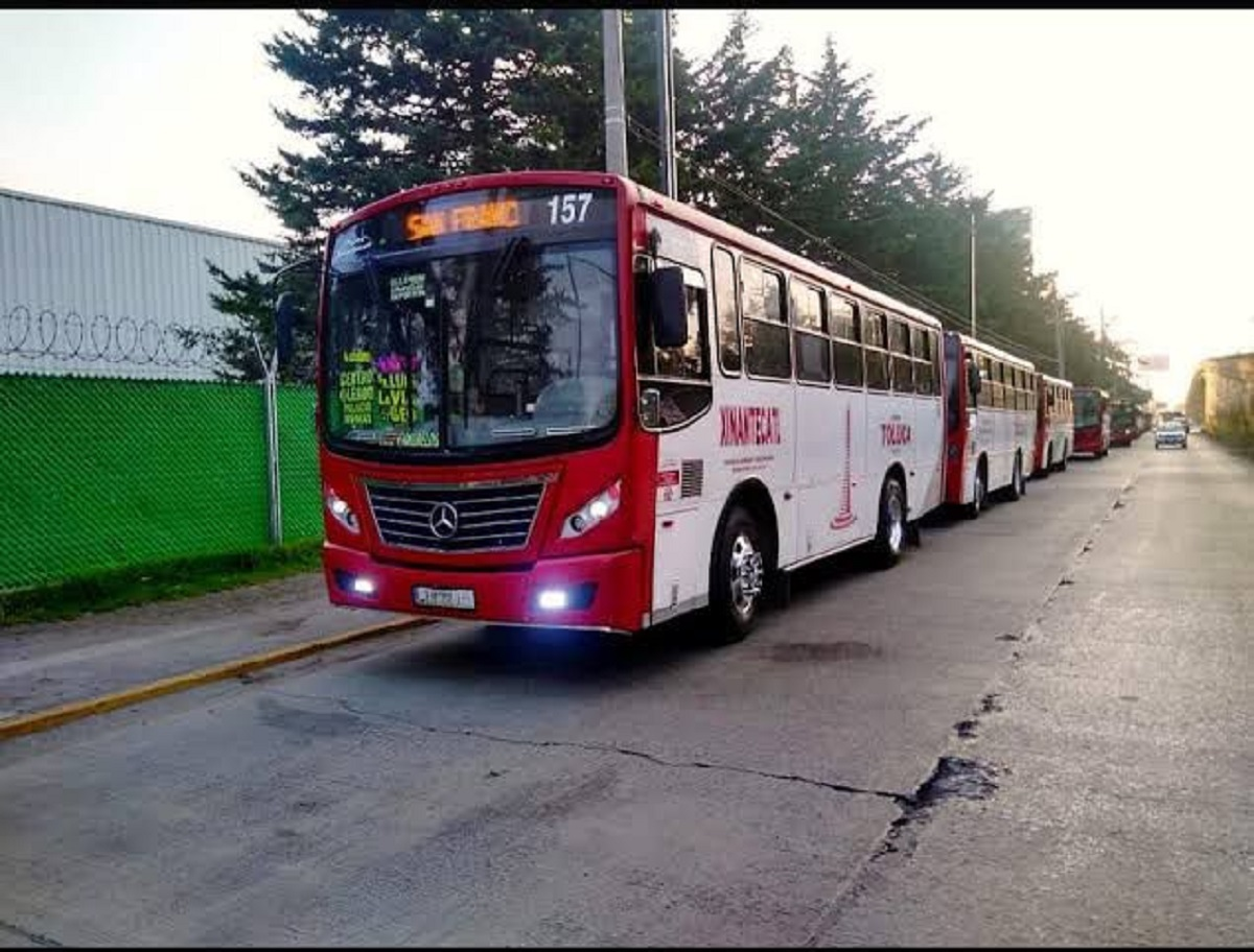 Asaltos robo a transporte público
