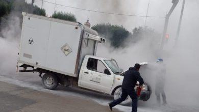 incendia camioneta