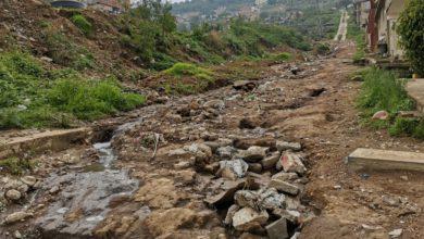 La zona en riesgo de inundar