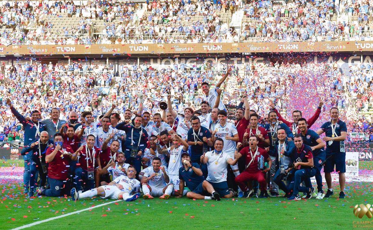 Cruz Azul Campeón de Campeones