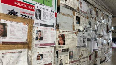 Personas desaparecidas en el Edomex