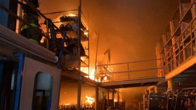 incendio en Tlane