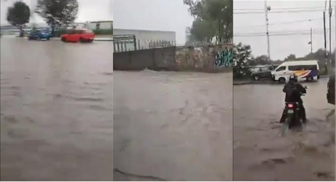 Inundaciones en Tepotzotlán