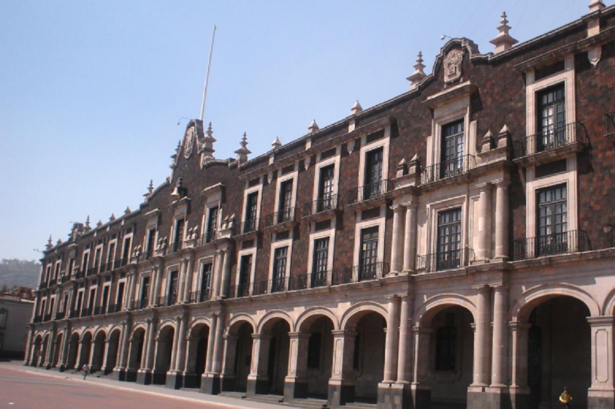 El Palacio de Gobierno del Estado de México