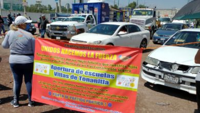 Bloquearon la carretera Santa Ana Nextlalpan