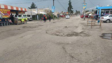 La carretera Toluca-Temoaya deteriora