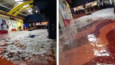 El incidente en Plaza Aragón