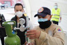 Programa recarga de tanques de oxígeno