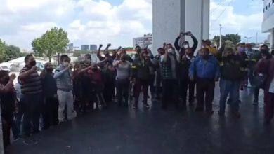 Protesta Naucalpan