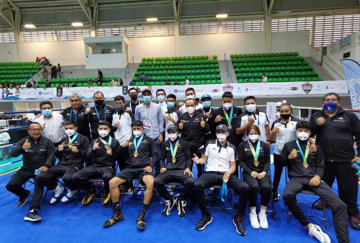 Los medallistas mexiquenses