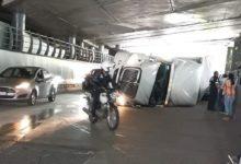 El accidente se registró en Naucalpan